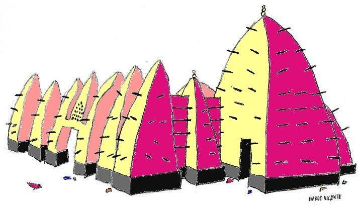 140330 larabanga mosque 2 colour